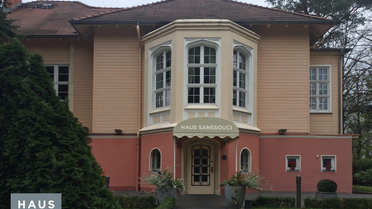 Unser Haus Haus Sanssouci